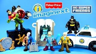 getlinkyoutube.com-Imaginext® Batman & The Villains of Gotham DC Super Friends™ Fisher-Price® Set 3 Unboxing