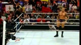 getlinkyoutube.com-RANDY ORTON RKO'S 4 PEOPLE IN A ROW!!!!