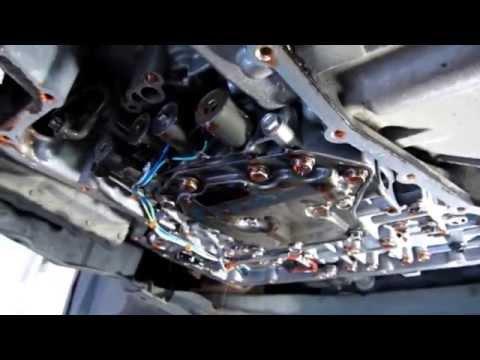 Замена масла АКПП с фильтром Nissan Tiida