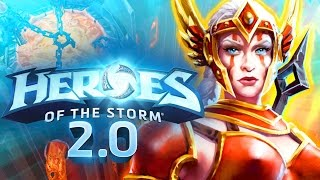 Heroes 2.0 and New Hero Cassia Gameplay | Heroes of the Storm Diablo 2 Amazon Gameplay | MFPallytime