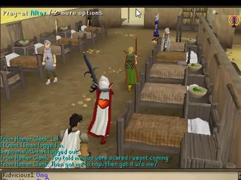 Sxcy babez1 getting 99HP on RuneScape