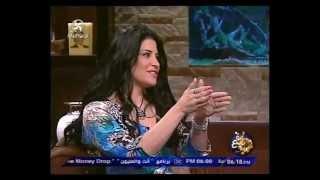 getlinkyoutube.com-جينا سلطان في ساعة مع شريف 4-2012