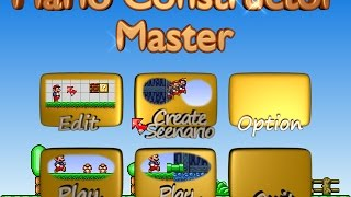 getlinkyoutube.com-Mario Constructor Master [Alpha Preview 3]
