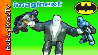 getlinkyoutube.com-Batman imaginext Solomon Grundy Harley Quinn Bad Guy Party by HobbyKidsTV