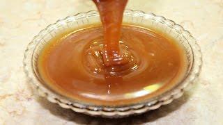 طريقة عمل صوص الكراميل المثالي في الطعم و القوام و اللون - Caramel Sauce
