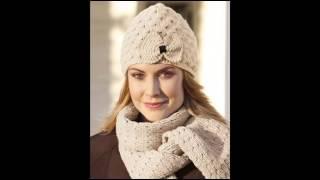 getlinkyoutube.com-Самые модные вязаные женские шапки