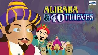 getlinkyoutube.com-Ali Baba Aur 40 Chor - Full Animated Movie - Hindi