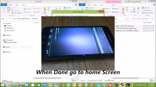 getlinkyoutube.com-Samsung Note N7000 5.1 Lolipop ROM install 2015