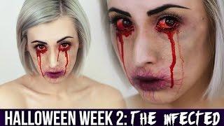 getlinkyoutube.com-'The Infected' Makeup | HALLOWEEN 2014