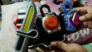 getlinkyoutube.com-รีวิวเข็มขัดมาสไรเดอร์ DX gaim genesis driver (thai)