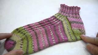 getlinkyoutube.com-簡単な靴下の長さの決め方について