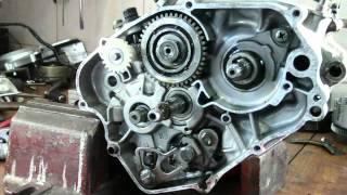 Yamaha DT TDR TZR KTM LC2 Sachs ZX 125 Rozbieranie silnika / engine disassembly