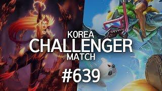 韓服菁英對決 #639 | Peanut, kfo, Haru, Crown