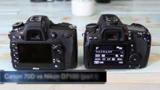getlinkyoutube.com-Canon 70D vs D7100 - Cameras Compared Part I