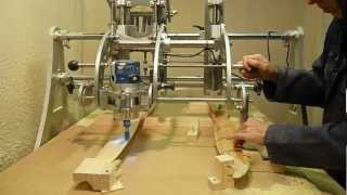 getlinkyoutube.com-Clone 4D - Router Duplicator / Copy Carver -  Propeller Duplicating.