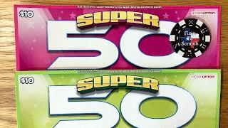 getlinkyoutube.com-2X $10 Super 50X! Hoosier Lottery Scratch Offs
