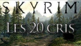 getlinkyoutube.com-Skyrim-Les 20 cris