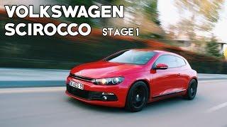 getlinkyoutube.com-VW Scirocco 1.4TSI Stage1 (2011) | POV & 0-100km/h Test!