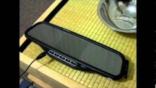getlinkyoutube.com-Wireless reversing camera & mirror with bluetooth handsfree kit