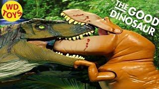 Disney The Good Dinosaur Galloping Butch Vs T-Rex Jurassic World  Pixar WD Toys