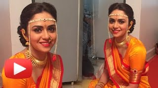 getlinkyoutube.com-Wedding Pictures Out!! - Amruta Khanvilkar's Haldi Ceremony!!