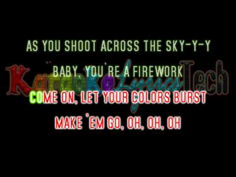 Katy Perry - Firework - Lyrics / Karaoke