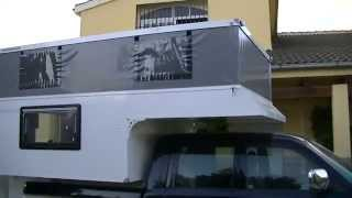 getlinkyoutube.com-Truck Camper Europe mod. Adventure   (Interior)