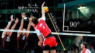 getlinkyoutube.com-Top 20 Incredible Angle Of Attack | Super Volleyball Spikes | 3rd Meter Spike