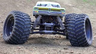 RC ADVENTURES - Worlds Largest Backyard RC Track - Electric Monster Truck 4x4 Experience