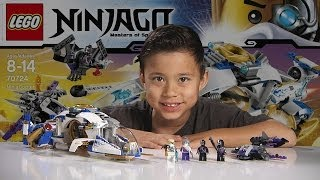 getlinkyoutube.com-NINJACOPTER - LEGO NINJAGO 2014 Set 70724 - Time-lapse Build, Unboxing & Review!
