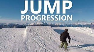 getlinkyoutube.com-Beginner Snowboard Jump Progression with Doug