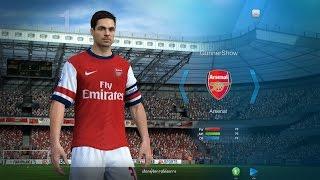 getlinkyoutube.com-FIFA Online3 - บอลสบายๆสไตล์ Arsenal #Short pass &Team Play Ranking 1-1
