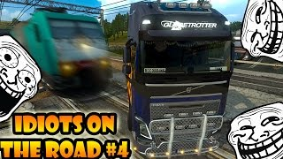 ★ IDIOTS on the road #4 - ETS2MP | Funny compilation - Euro Truck Simulator 2 Multiplayer