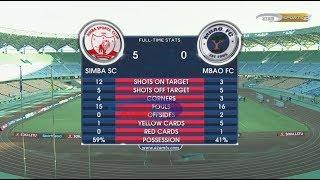 SIMBA SC 5-0 MBAO FC; VPL, FULL HIGHLIGHTS (26/02/2018)