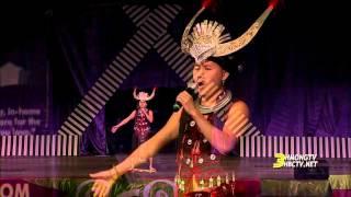 getlinkyoutube.com-3HMONGTV: Miao dance performed by YangChi Lee at the Hmong MN New Year 2016.