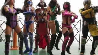 getlinkyoutube.com-Mortal Kombat VS Gangnam Style