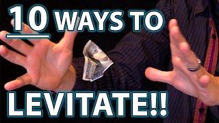 getlinkyoutube.com-10 Ways to LEVITATE!! (Epic Magic Trick How To's Revealed!)