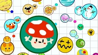 getlinkyoutube.com-Agario NEW Record Highest Score 88K Trolling Part 6 In Mobile Agar.io Funny Moments