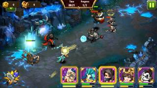 getlinkyoutube.com-Magic Rush Crystal Dungeon Level 97
