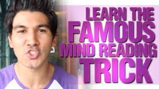 getlinkyoutube.com-How To Read Someone's Mind? Learn The Famous Mindreading Trick!