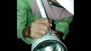 getlinkyoutube.com-Membuat Celengan dari  Kaleng Bekas