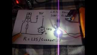 getlinkyoutube.com-How to  Make Led Driver for Laser or Led Diode