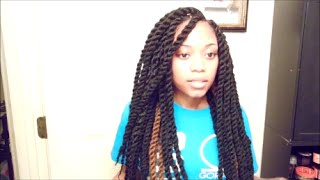 getlinkyoutube.com-Detailed Marley Twist Tutorial (Protective Style)