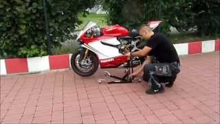 getlinkyoutube.com-Ducati 1199 Panigale Bursig Stand by Bursig.com Germany