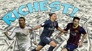 getlinkyoutube.com-NEW Top 15 Richest Footballers 2016 HD (You wont believe No.1!)