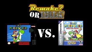 getlinkyoutube.com-ROR: Super Mario World Vs. Super Mario Advance 2