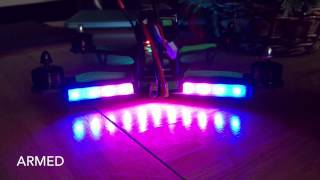 getlinkyoutube.com-ZMR250 Cleanflight LED Demo