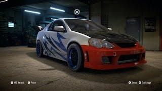 getlinkyoutube.com-Need For Speed 2015 - Acura RSX-S 2004 - Customize Car | Tuning (XboxONE HD) [1080p]