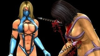 getlinkyoutube.com-Mortal Kombat Komplete PC Blonde Mileena Mod & Challenge Tower