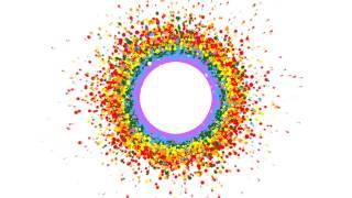 getlinkyoutube.com-4K Rainbow Circle Free Animation Background